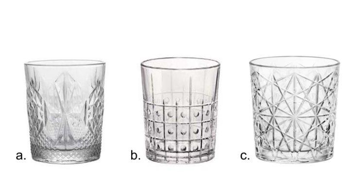 Linea bicchieri DOF